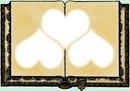 parchemin coeur
