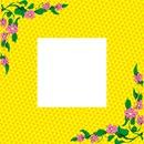 Cuadro  con un toque de flores