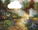 Lutina rose jardin