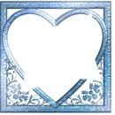 le coeur bleu