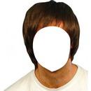 Cheveux Mis-long châtains