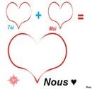 toi + moi = nous ♥