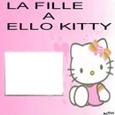 la fille a ello kitty