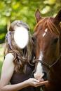 fille et cheval