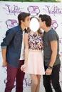 Beso con Jorge y Diego