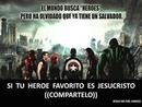 JESUCRISTO super heroe