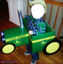 toy tractor, peddle car, funny, toy, kid, cowboy,