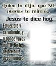 Jesus te dice hoy