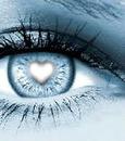Un coeur dans un oeil