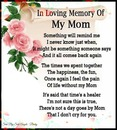 in loving memory my mom