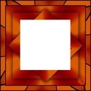 laly cadre marron