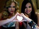 Selena And Taylor heart