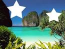 étoile sur plage