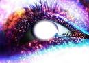 olho brilhante