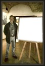 el pintor i el seu quadre