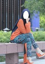 beauty hijab lady