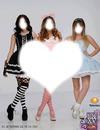 Macarena Achaga,Paulina Goto y Natasha Duepyron Mis idolas.