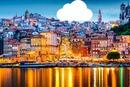 coucher de soleil sur Porto