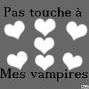 pas touche a mes vampire