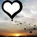 amor nas nuvens