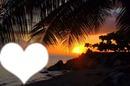 Coeur sur la mer
