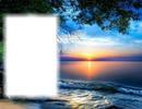 Coucher de soleil-lac