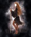 femme à l'épée
