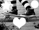Toujours en train de faire du skate