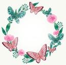 Circulo de mariposas