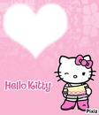 Hello kitty clin d'oeil