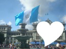 Guatemala flag in Guatemala City