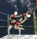 boxe dans l'eau