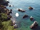 Rochers en mer