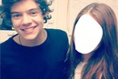 Harry Stayls con una fan