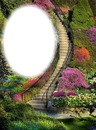 Escalier-fleurs-jardin