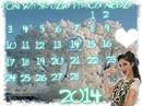 Calendar Violetta