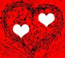 rouge coeur