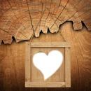 coeur encadré