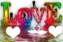 Love en couleur 2 photos