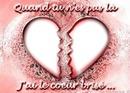 coeur brisé sans toi <3