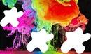 peinture multicolore 3 photos