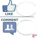Like vs. Comment