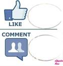Like vs. Comment