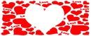 coração love para 1 foto