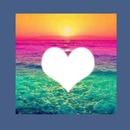 Coeur dans la mer