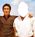 picture with Bruce Lee