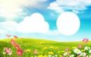 fleurs et prairie