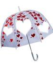 guarda chuva de coração