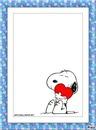 snoopi corazon