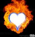coeur en feux